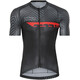 Bioracer Spitfire Dazzle Jersey SS Men green-red